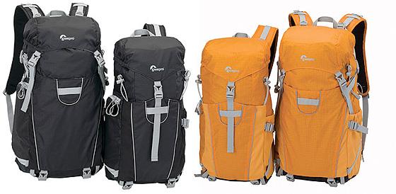 Lätta sportiga fotoryggsäckar från Lowepro