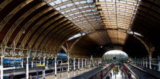 Tågstation i London