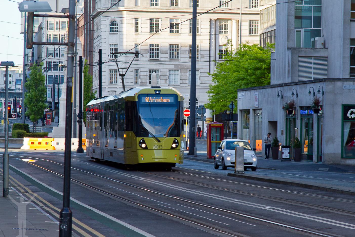 Spårvagn i Manchester