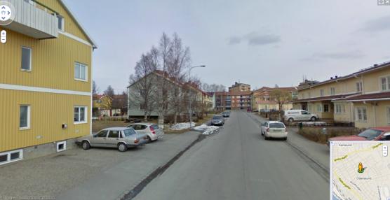 ...men april inne på Övre Katrinelundsvägen.