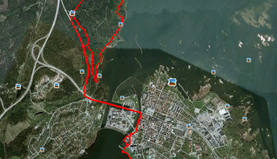 Cykling vid Ursand