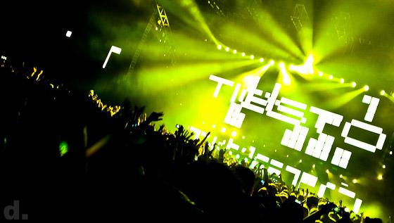 DJ Tiesto på Globen