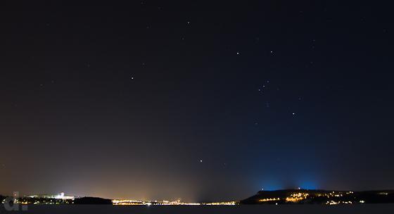 Östersund & Frösön by night
