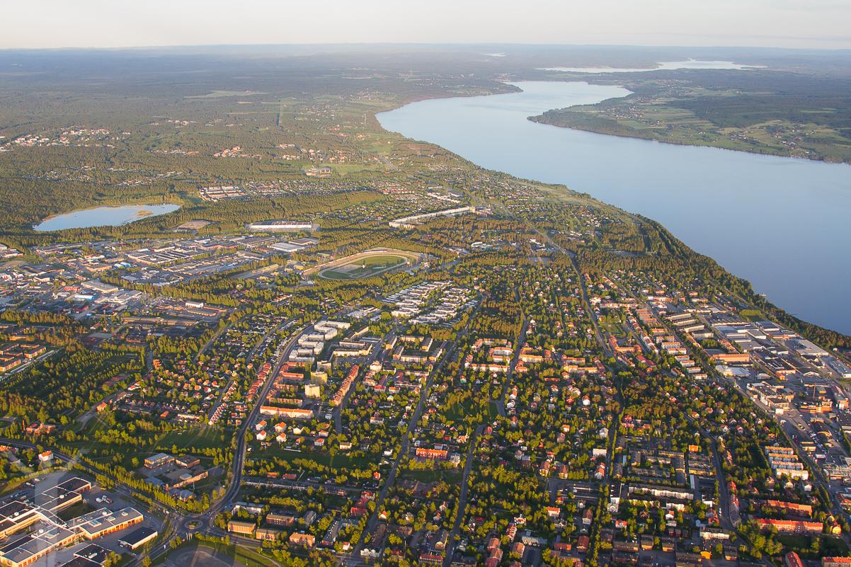 Livet från några tusen fot - Östersund