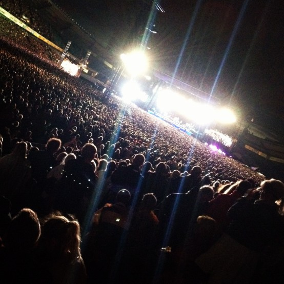 Bruce Springsteen på Ullevi 28 juli 2012