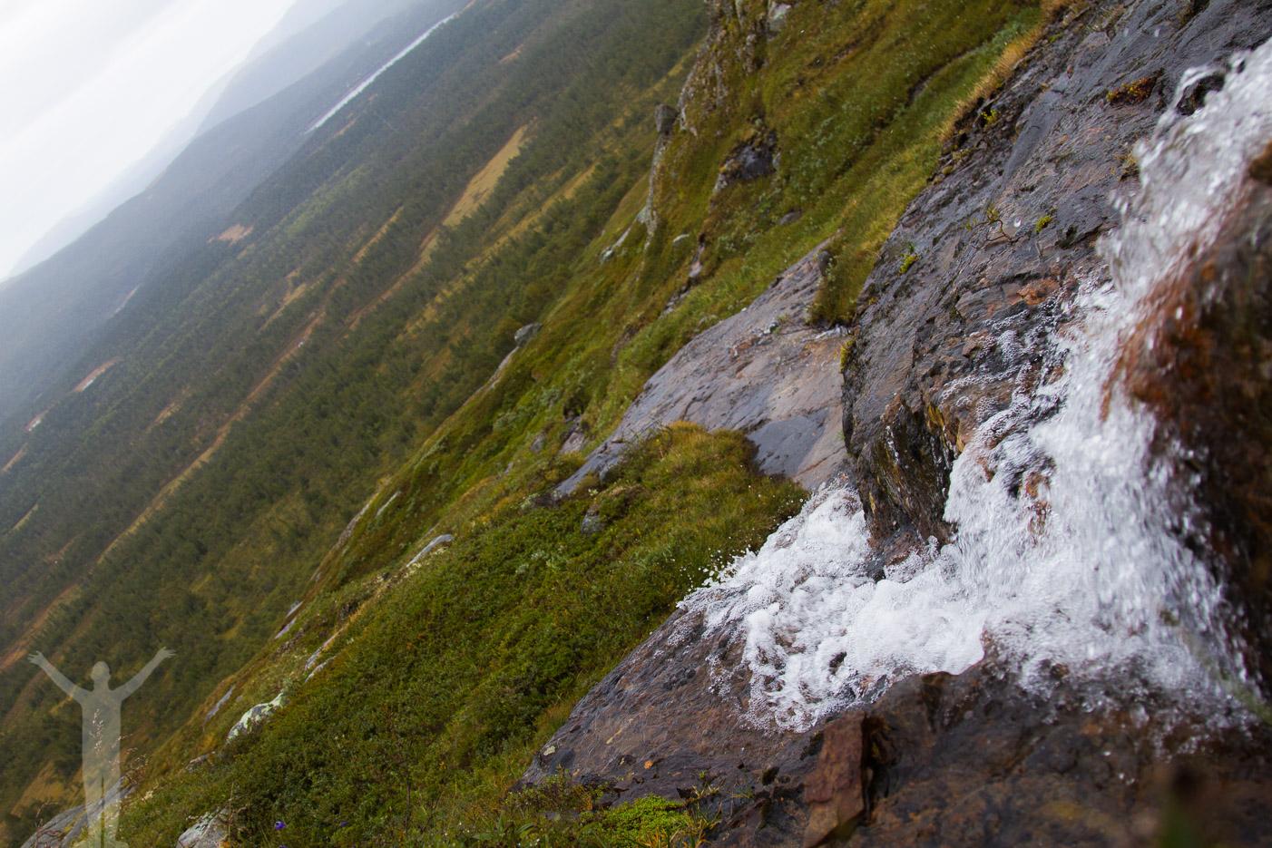 Vattenfall vid Kyrkstenen