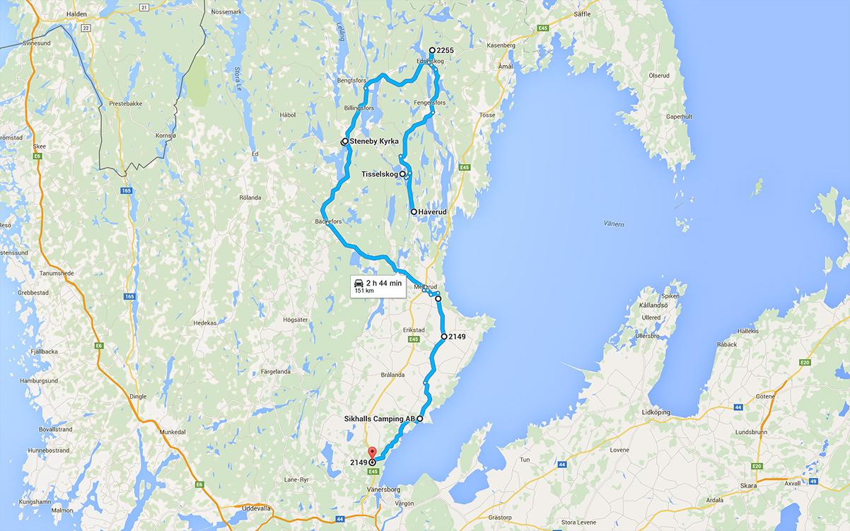 Reclaim Dalsland, roadtrip i norra delen