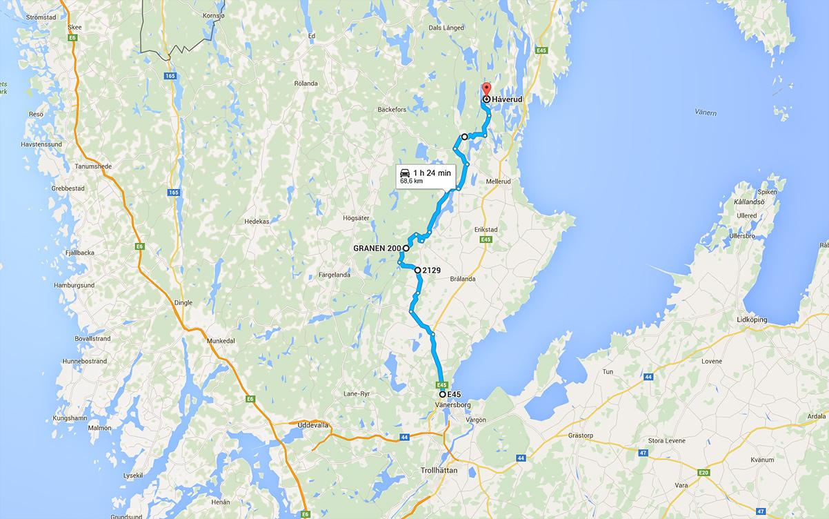 Reclaim Dalsland, roadtrip i södra delen