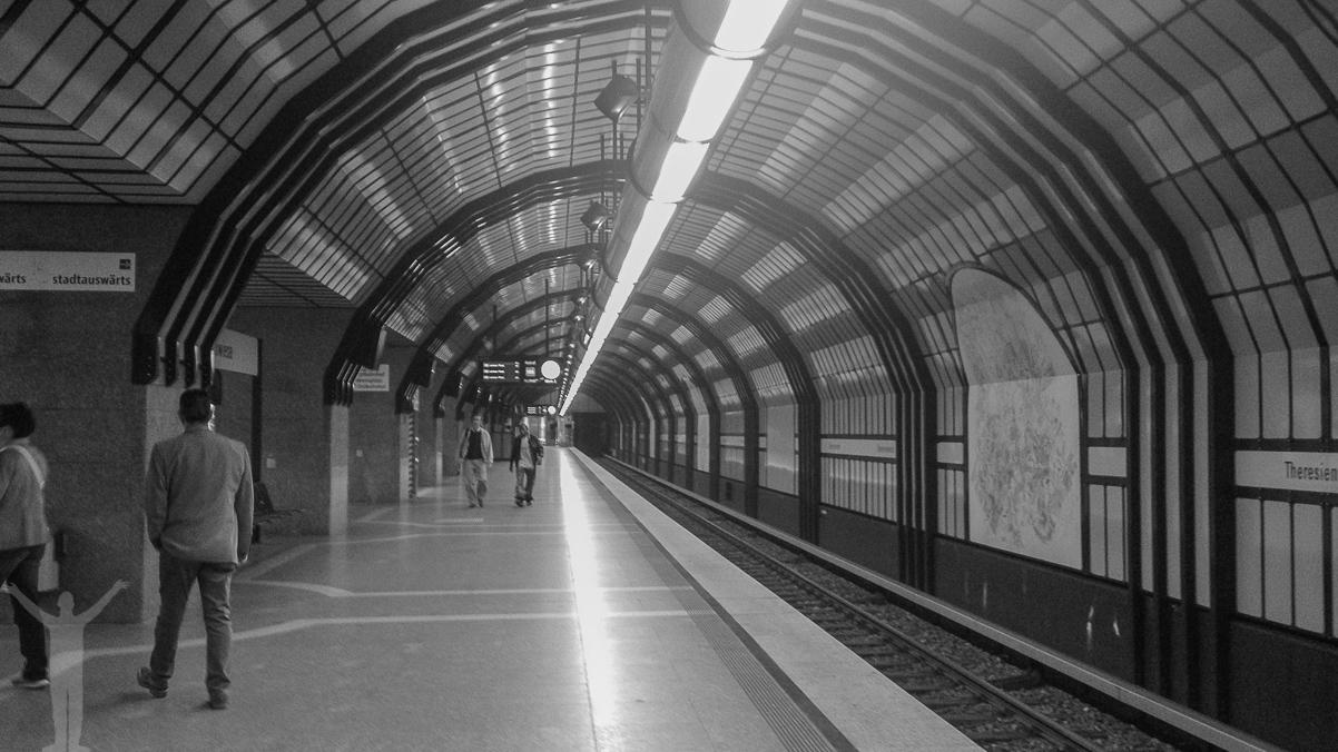 Tunnelbana. München.