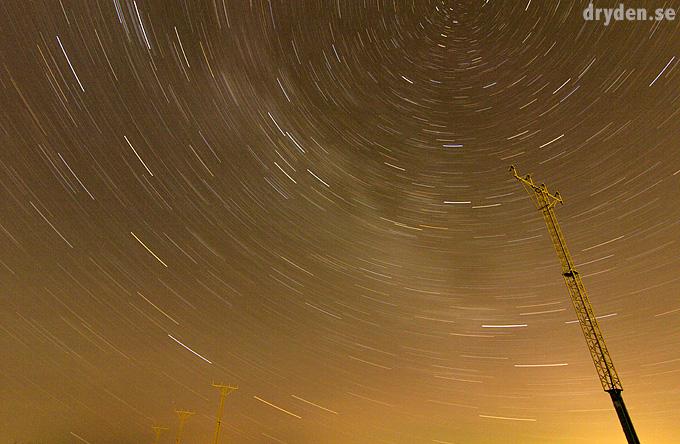 Stjärnhimmel på Frösön
