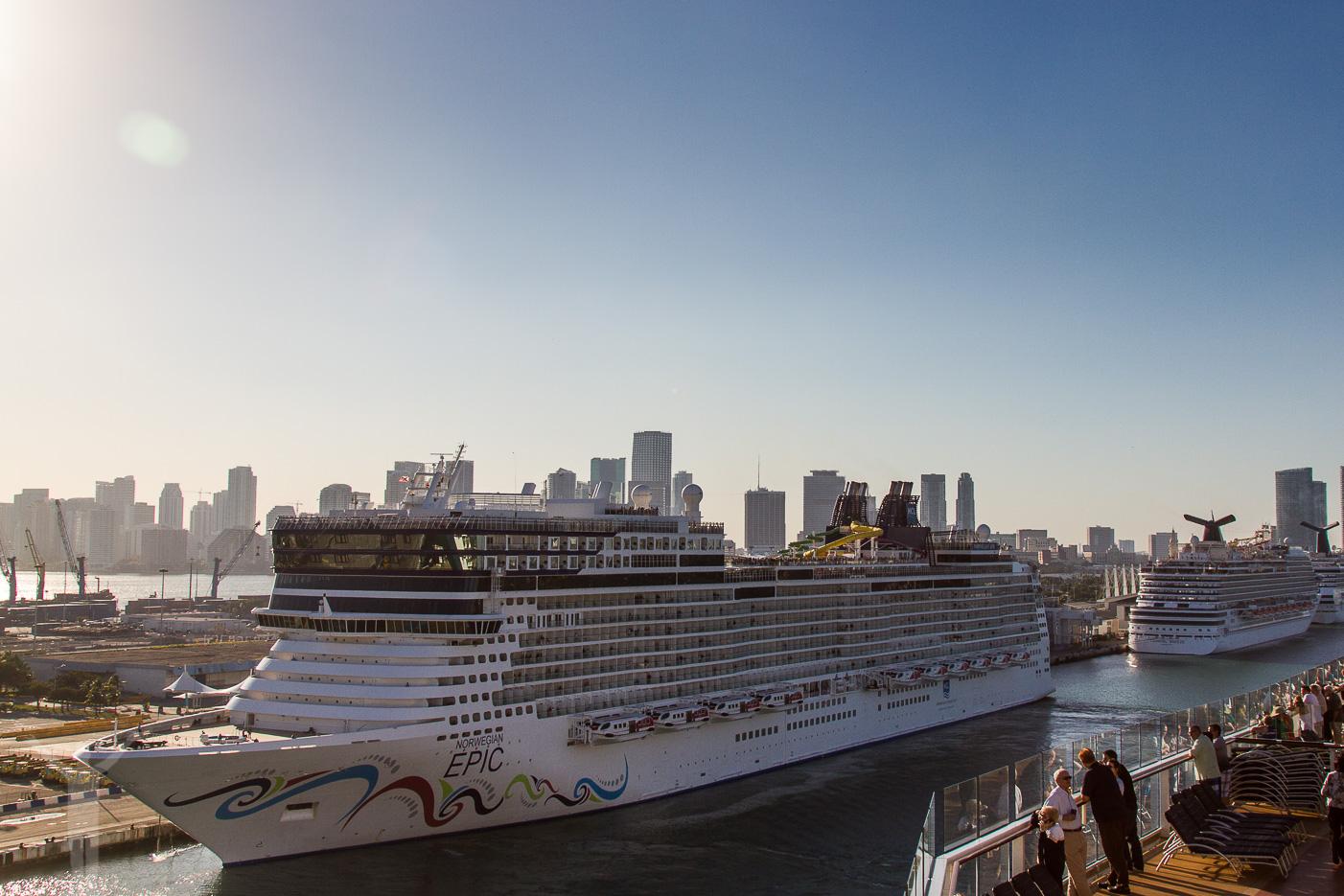 Kryssningsfartyg, Miami