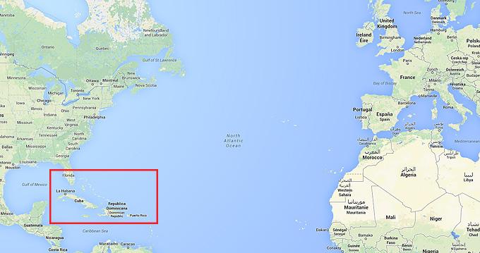 Karibien i världen