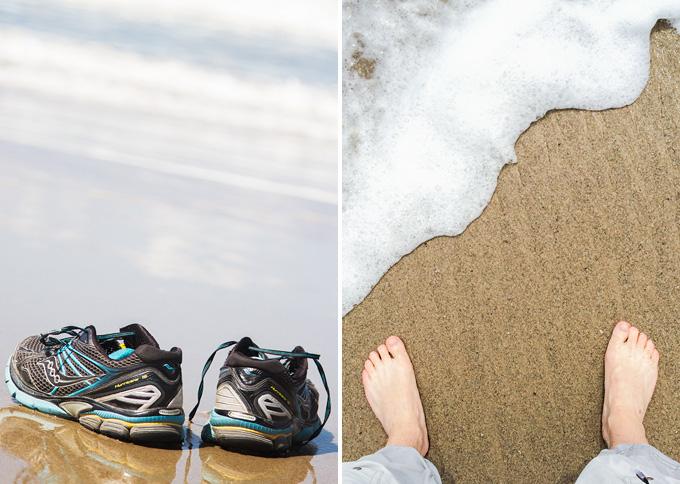 Med fötterna i Stilla Havet