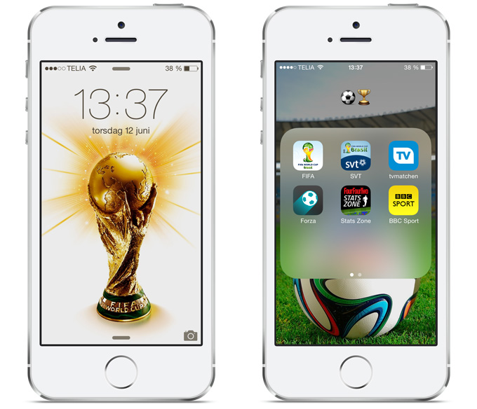 FIFA WorldCup iPhone 5S