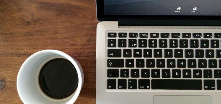 Kaffe & Macbook