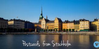 Postcards from Stockholm
