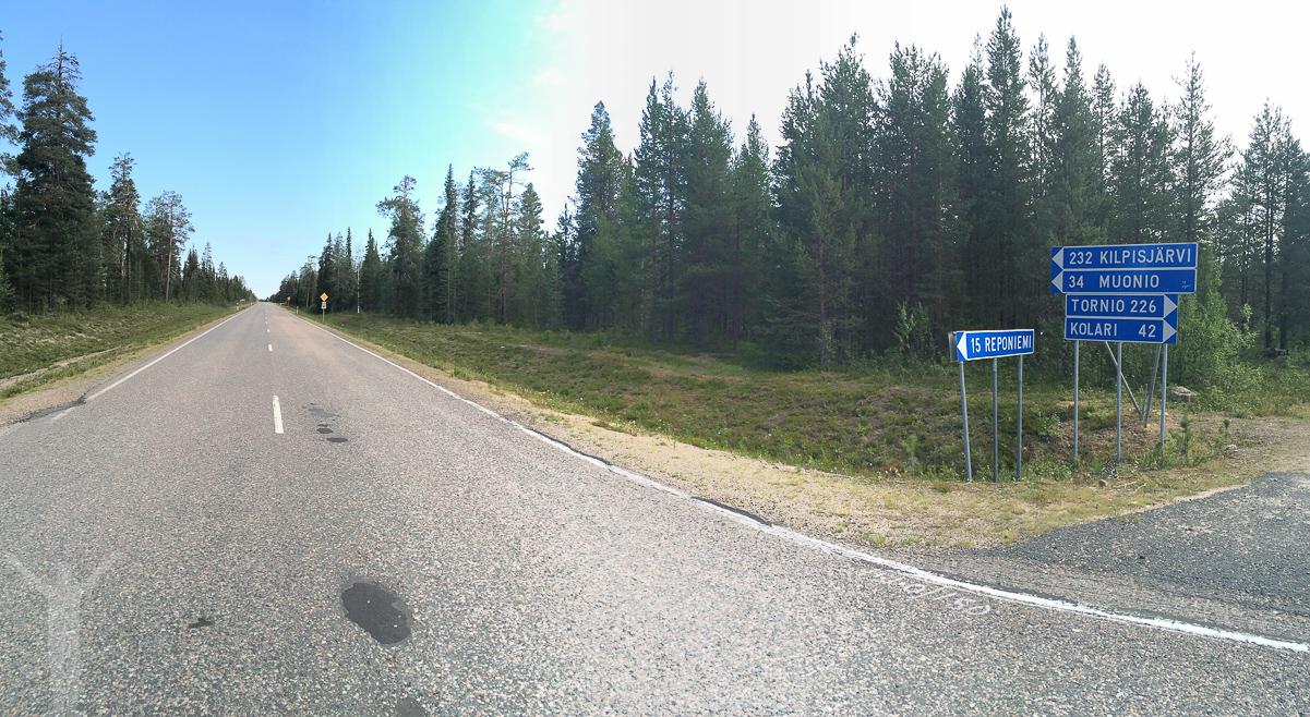 E8 i Finland