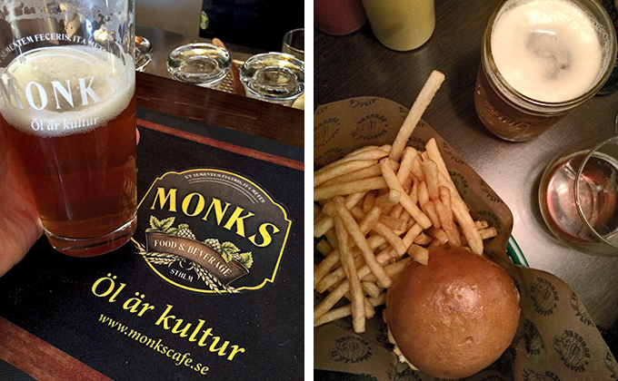 Monks och Flippin' Burgers