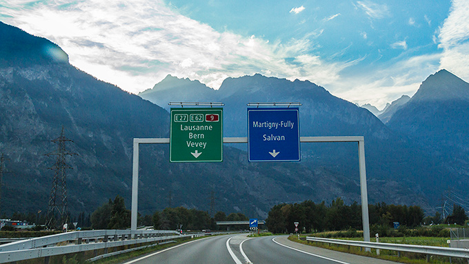 Motorväg i Schweiz