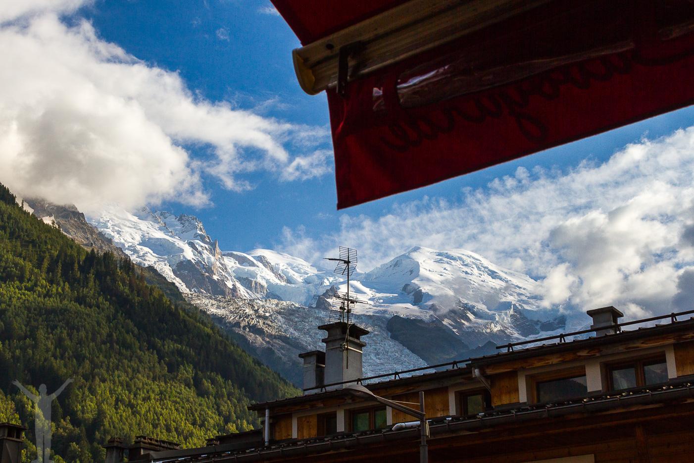 Vyer från Chamonix