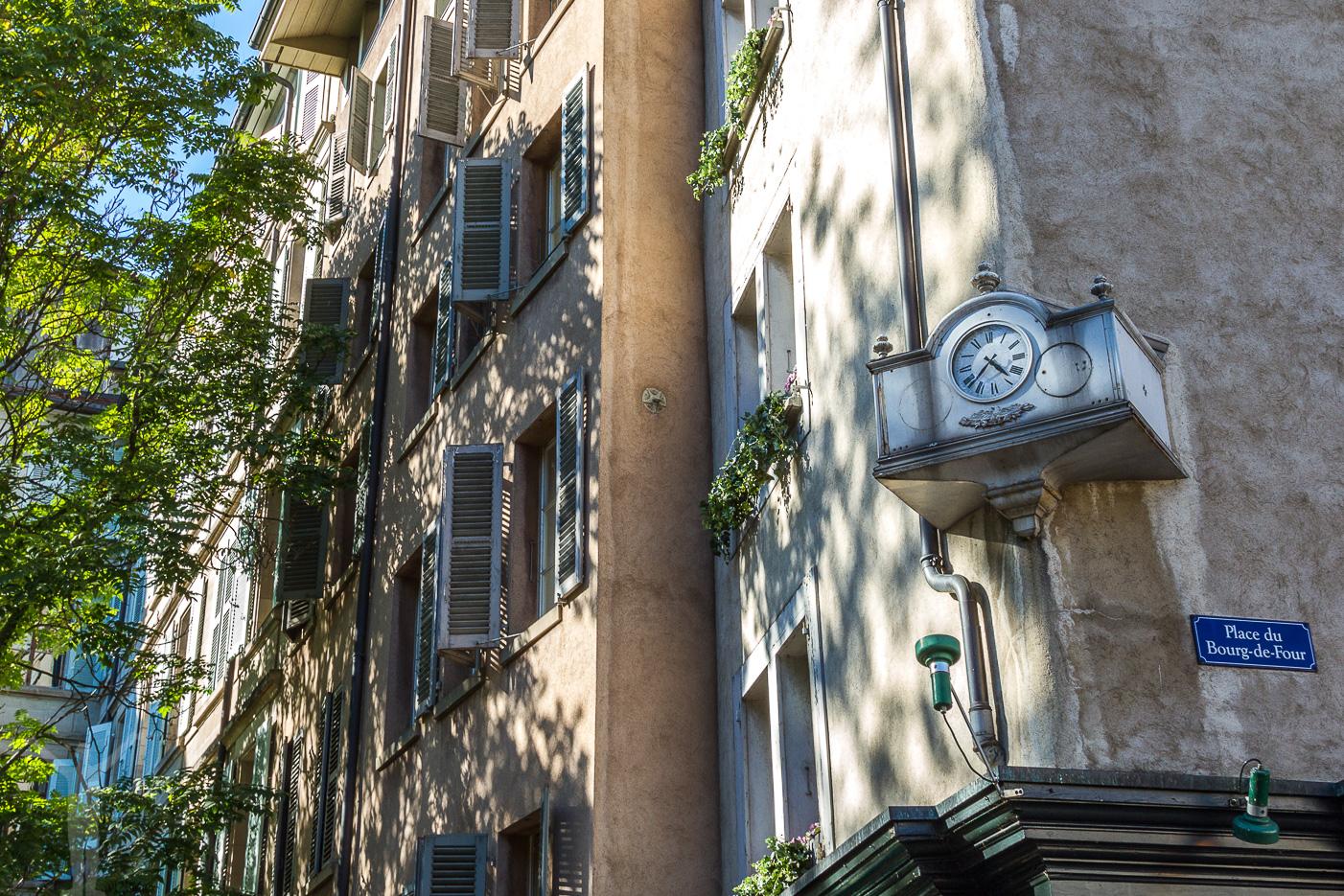 Gamla Stan i Gamla Stan i Genève, Schweiz