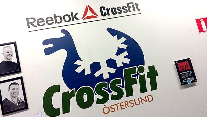 Träning på Crossfit i Östersund