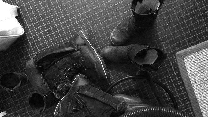 Skitiga skor