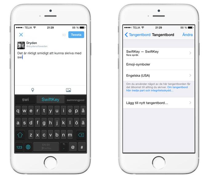 SwiftKey för iOS