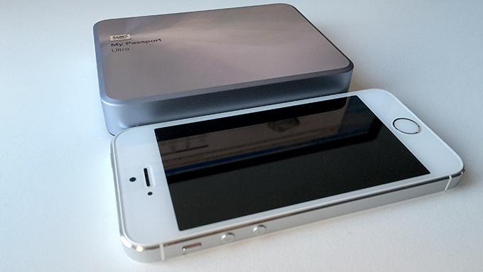My Passport vs iPhone 5S