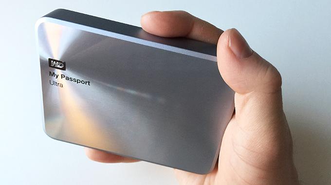 Western Digital My Passport Ultra 2TB Metal Edition