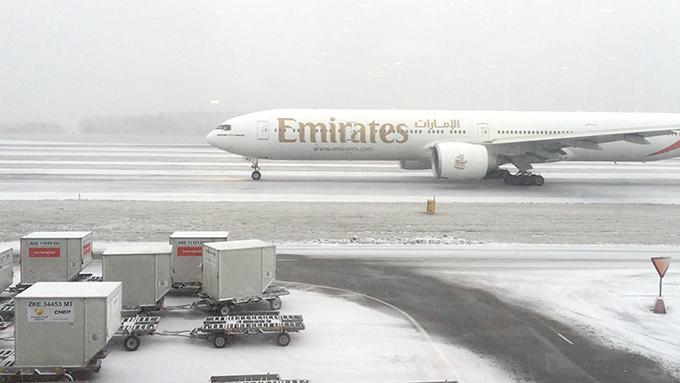 Emirates från Arlanda till Dubai