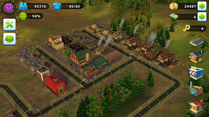 Industriområdet i Drydentown
