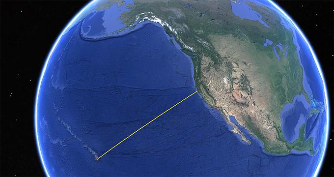 Google Earth - öar