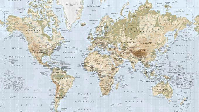 stor karta över världen Hela världen hos IKEA | FlyingDryden stor karta över världen