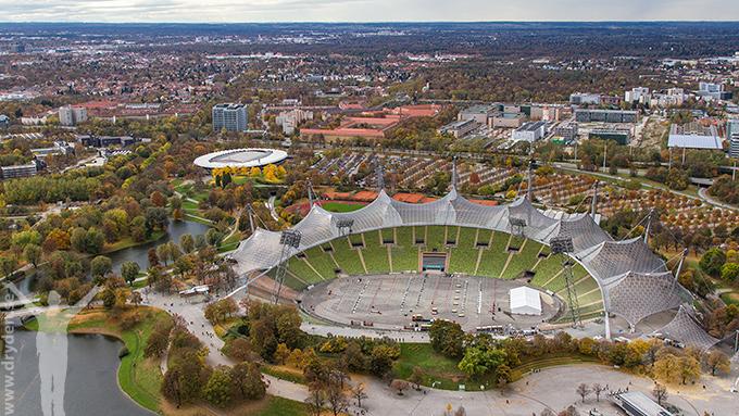 Olympiaområdet i München