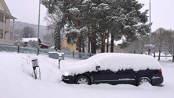 Snöfall i Skärgår'n