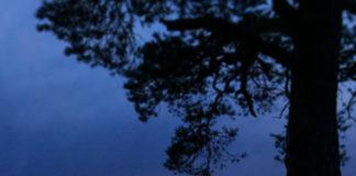Solnedgång vid Storsjön