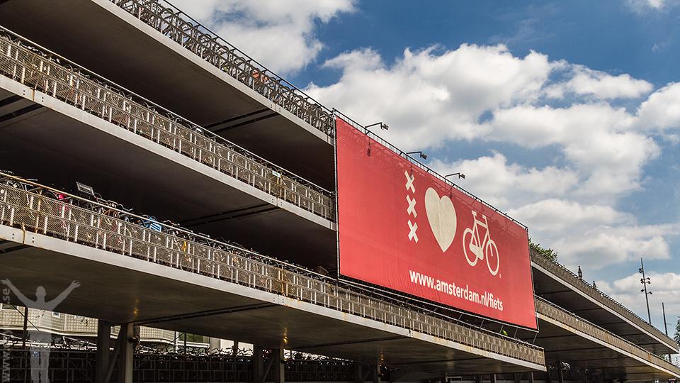 Cykla i Amsterdam