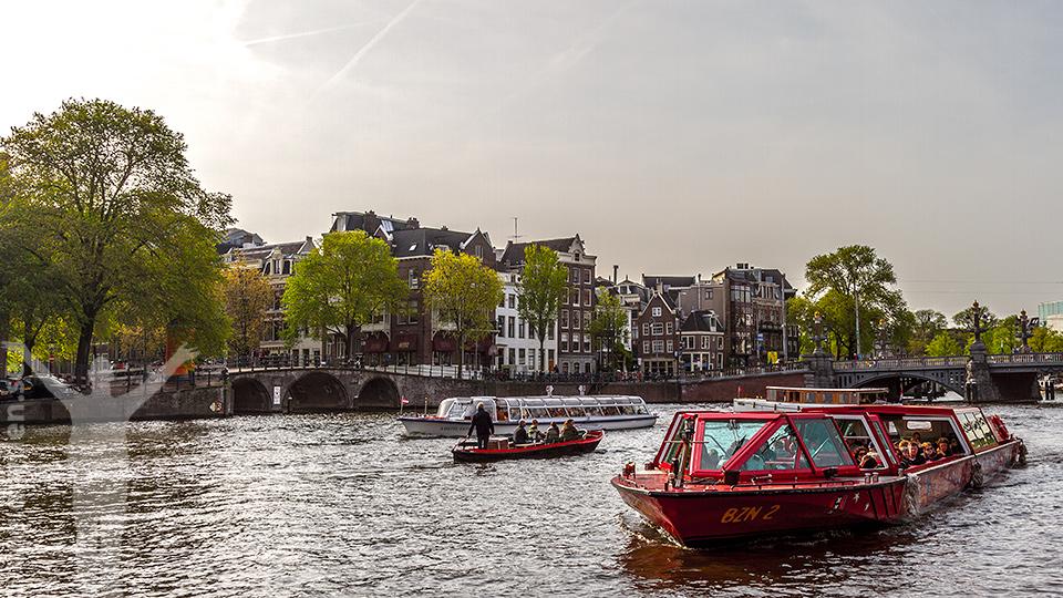 Amsterdam - rundtur på kanalerna