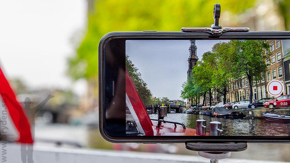 Amsterdam through an iPhone 6