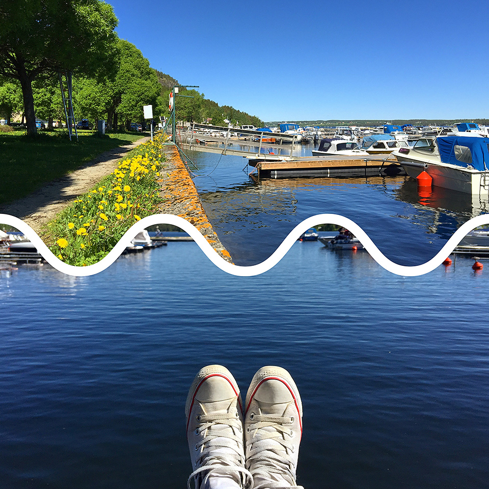Förmiddag i båthamnen