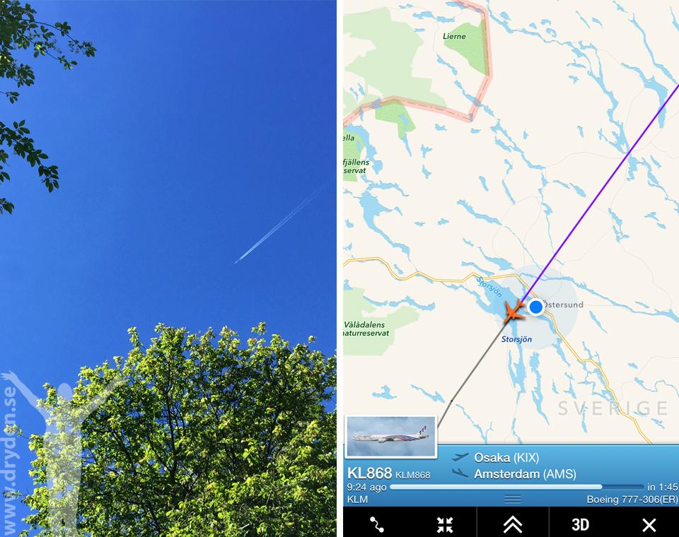 Flightradar24 & KLM