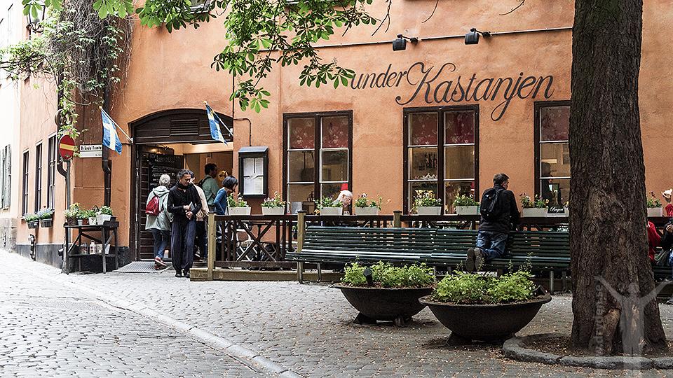 Under Kastanjen, Gamla Stan i Stockholm