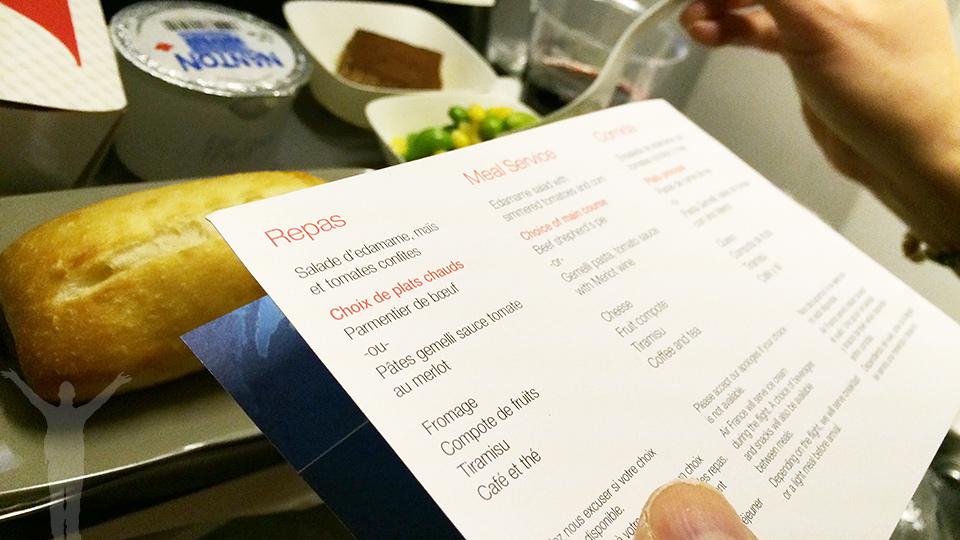 Mat ombord som förgyller din långflygning