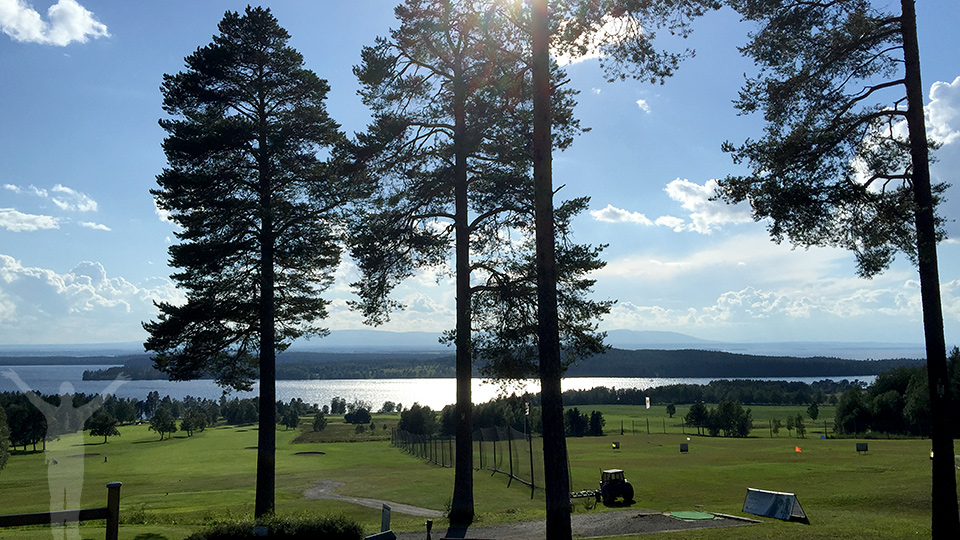 Hål 1 på Östersund Frösö golfbana