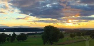 Solnedgång på Frösön