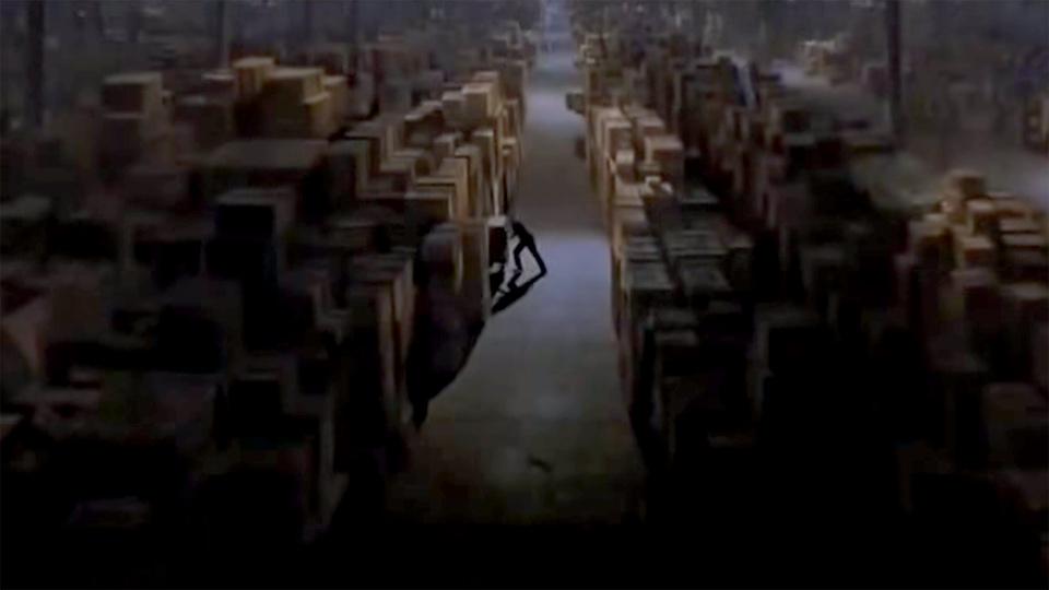 IKEA:s lager i Birsta?