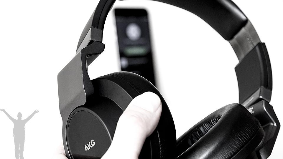 AKG K845BT - trådlöst mot iPhone