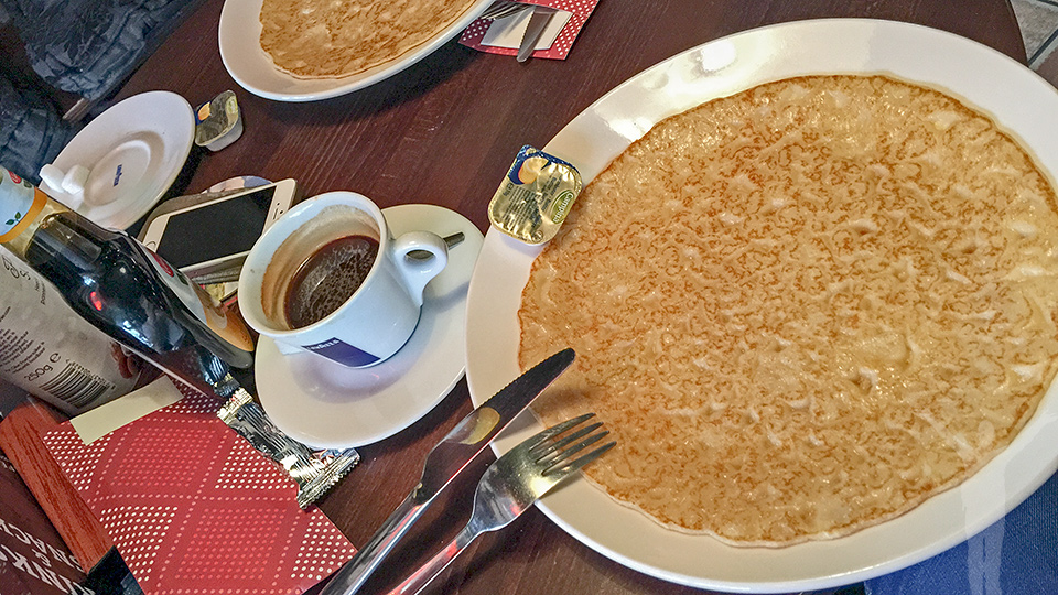 Frukost i Amsterdam