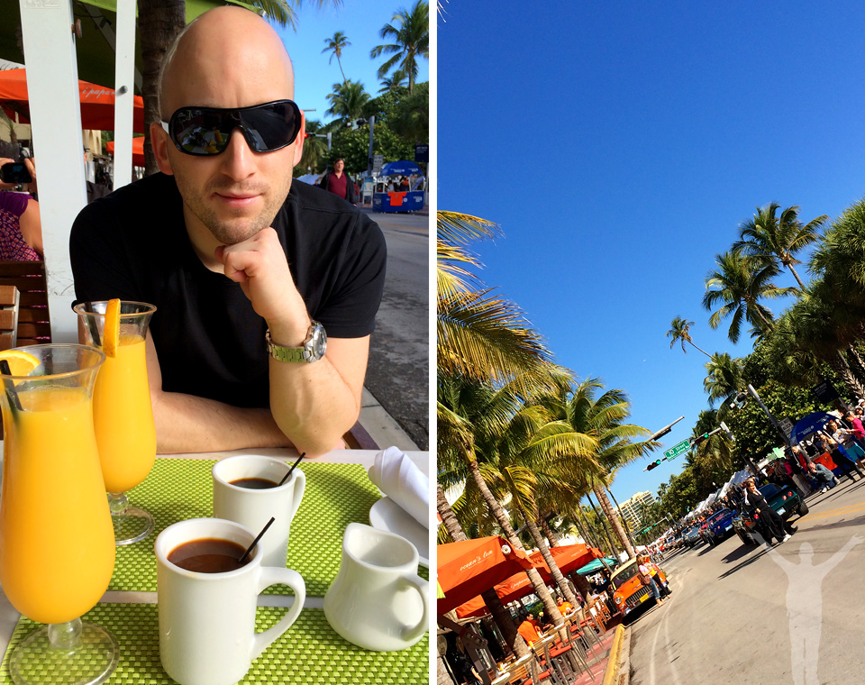 Miami Beach - frukost med utsikt